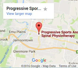 Progressive Sports and Spinal Physiotherapy Location